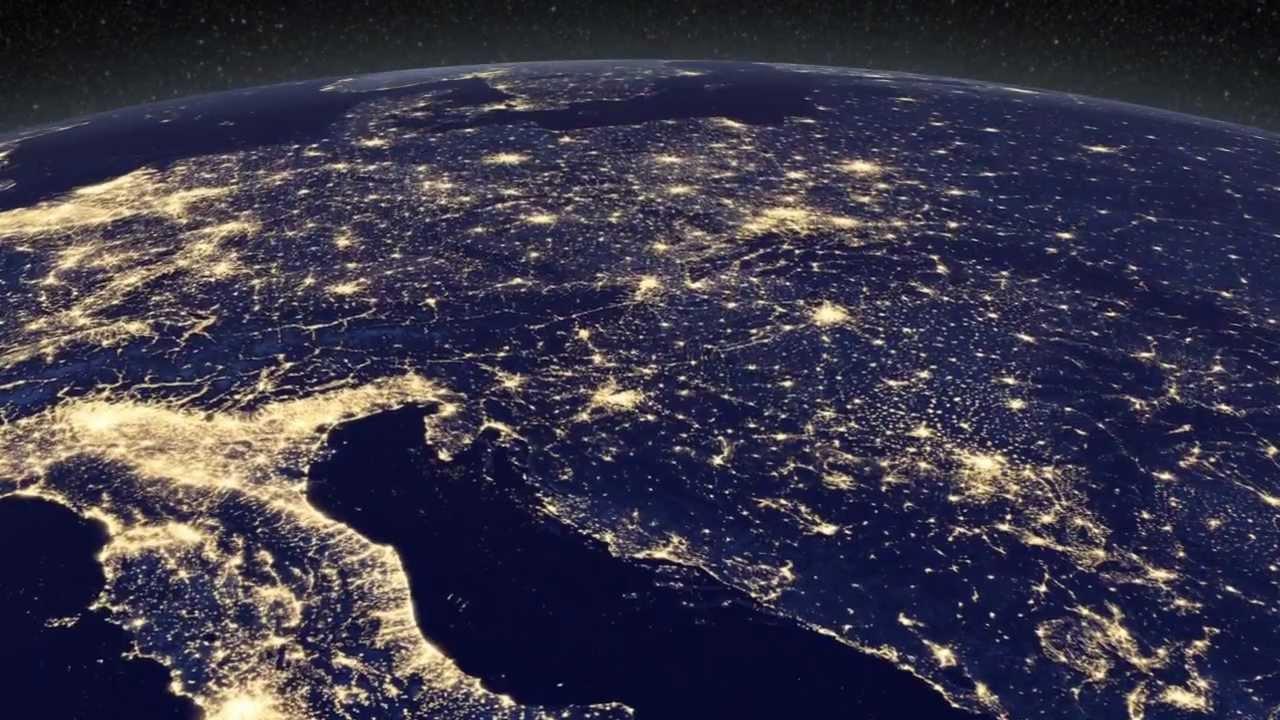 Dallo spazio: immagini notturne