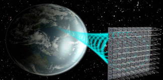 Solar space power system