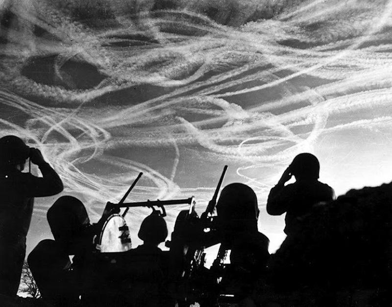 Scie chimiche durante la prima guerra mondiale