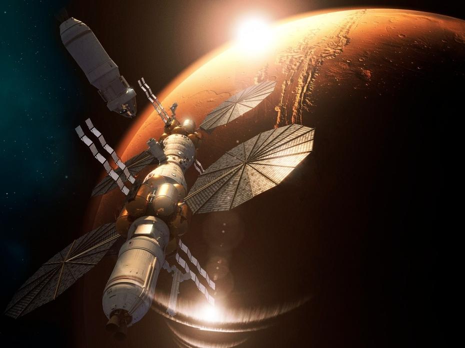 La SpaceX non è la sola ad aver annunciato i propri piani per portare l'umanità su Marte; anche la Lockheed Martin è intenzionata a farlo, nel 2030.