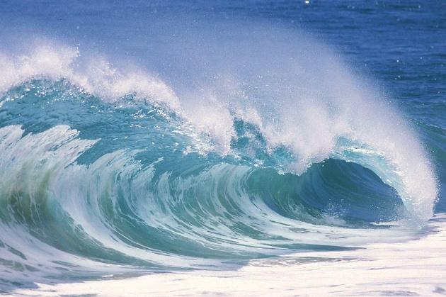 Onde del mare Navier-Stokes