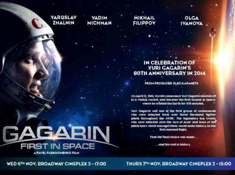 Gagarin: primo nello spazio