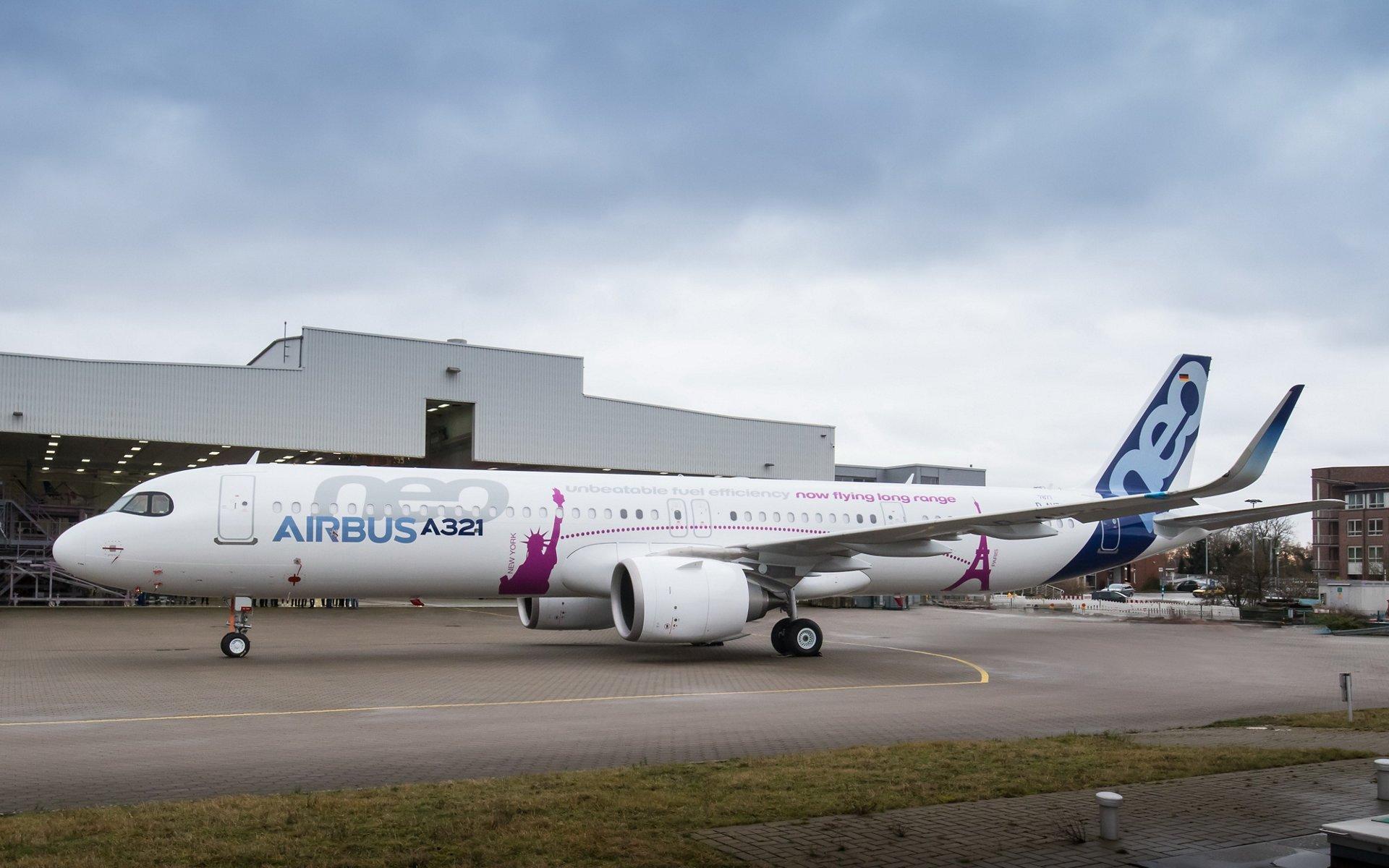 Airbus A321 Carburante Verde