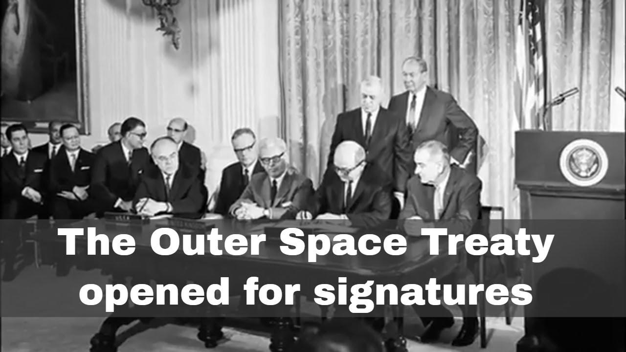 Outer Space Treaty per le dispute sulla luna e corpi celesti