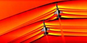 NASA: interazione dell'onda d'urto di due velivoli supersonici