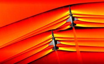 Onde d'urto velivoli supersonici