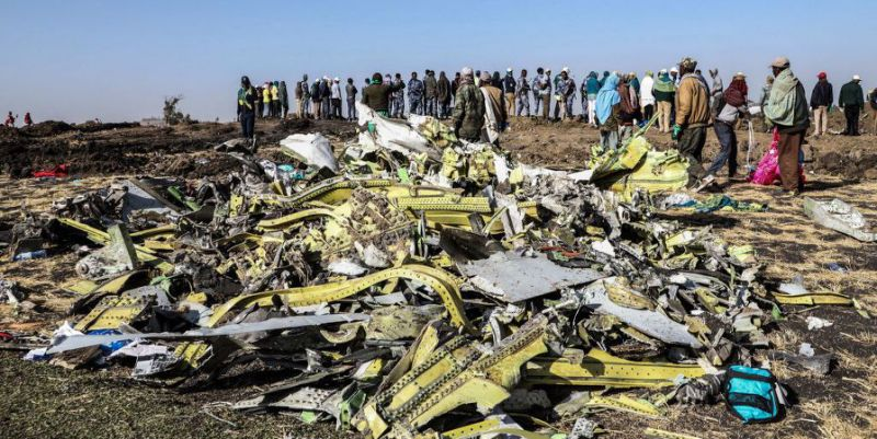 Disastro del B737 della Boeing