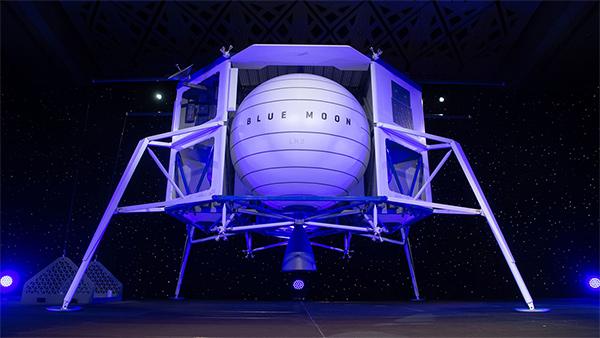 Jeff Bezos Blue Moon