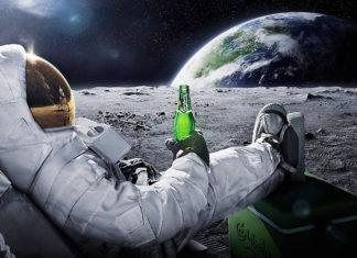 alcol nello spazio