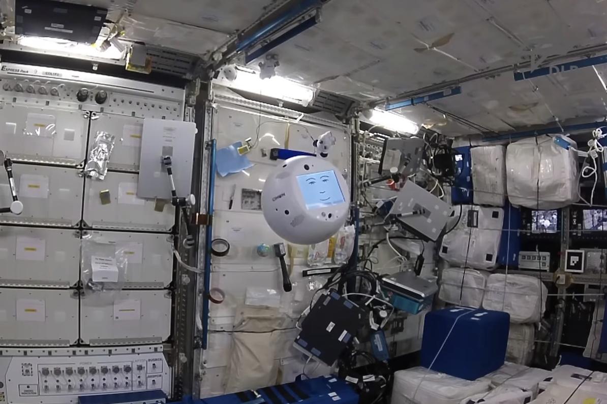 Fedor e astrobee: intelligenza artificiale