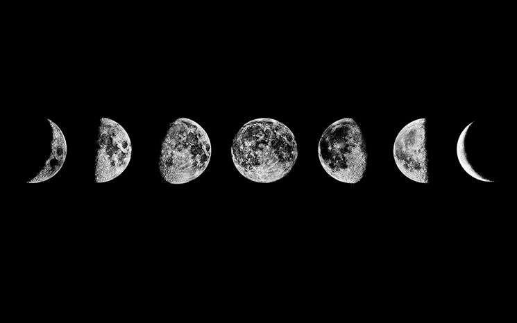 Fasi lunari: luna nera