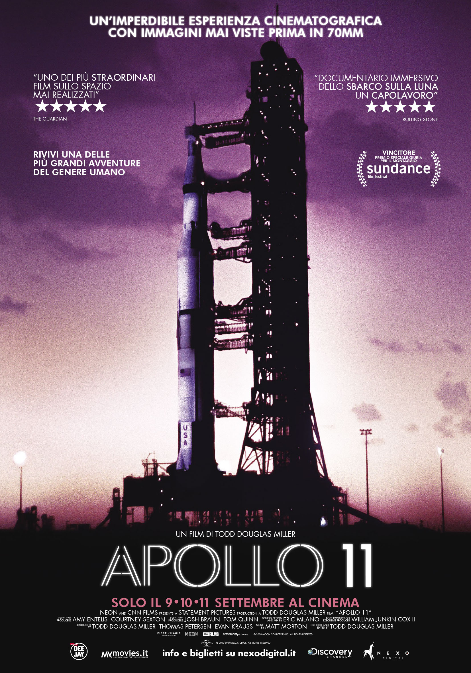 film su Missione Apollo 11