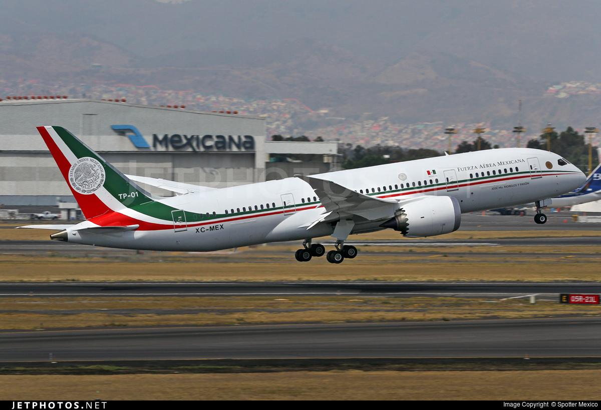 Il più costoso tra i velivoli presidenziali: Mexican Presidential plane