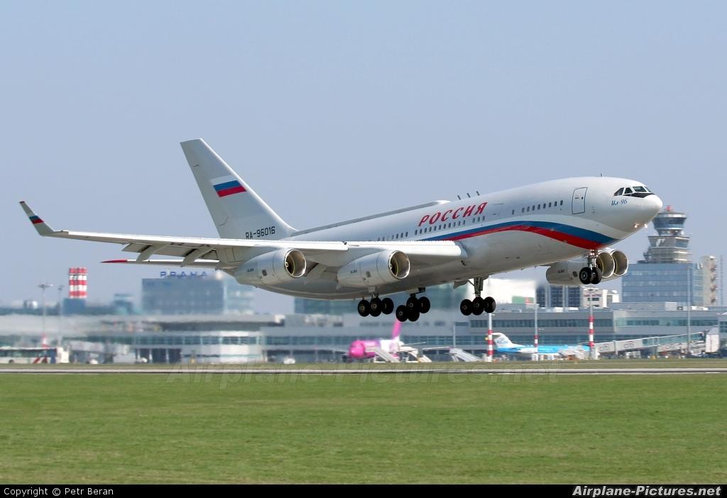 Velivoli presidenziali: Russian President's Plane