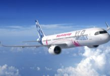 Airbus A321XLR Rendering