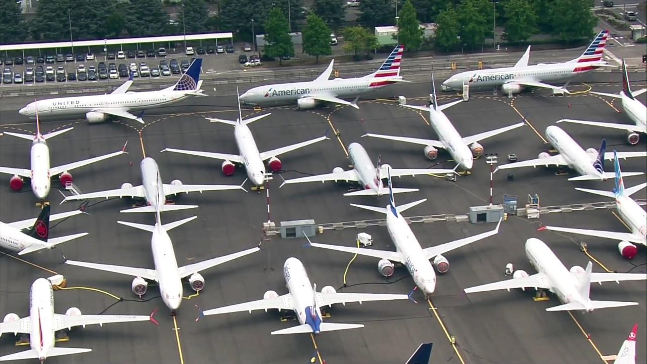 Boeing 737 Max nella sede di Seattle