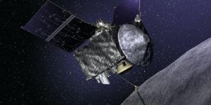Asteroide Bennu: strana espulsione di particelle