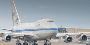 SOFIA: Telescopio a bordo di un Boeing 747