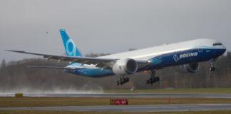 Primo decollo boeing 777x