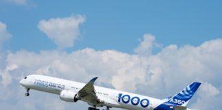 Airbus A350 decollo automatico
