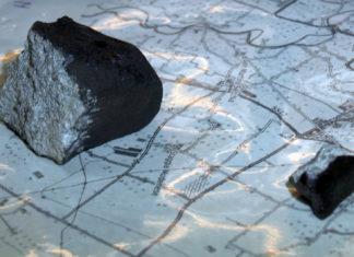 frammenti di meteorite