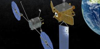 Prima manutenzione in orbita GEO
