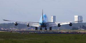 La tecnica di atterrare in presenza di forti turbolenze