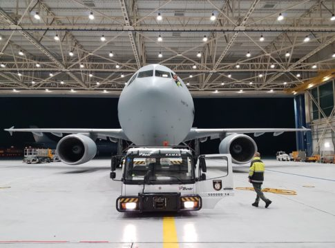 aereo tedesco trasporto pazienti coronavirus