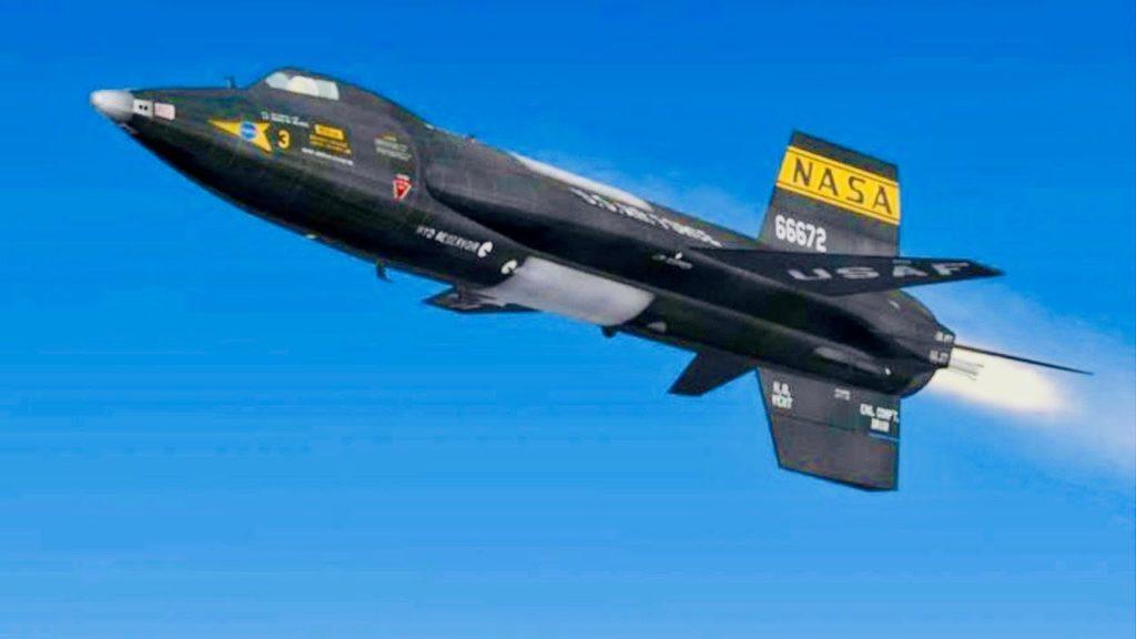 Moto ipersonico: X-15