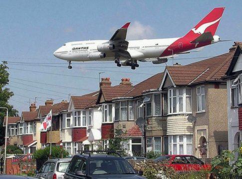Rumore prodotto dagli aerei