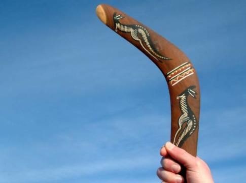 funzionamento boomerang