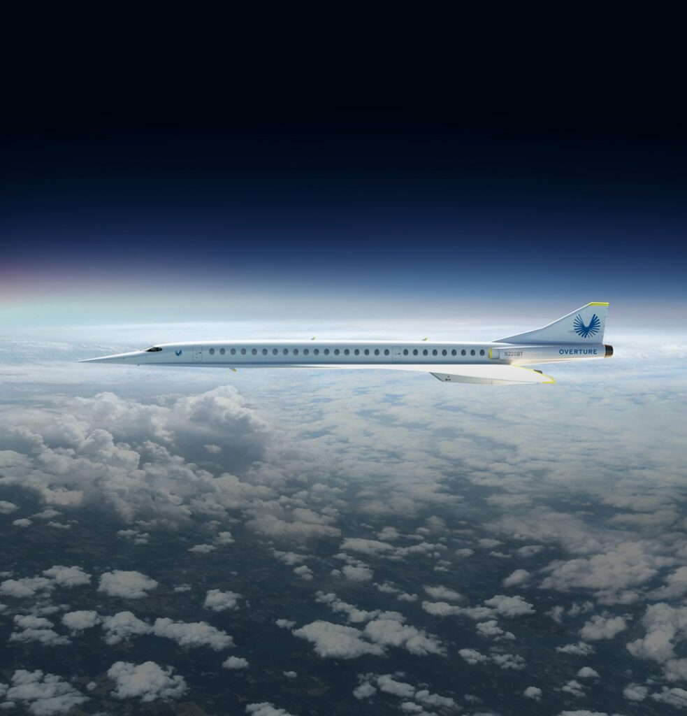 Boom Supersonic Rolls Royce