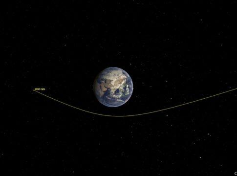 Asteroide 2020 QG
