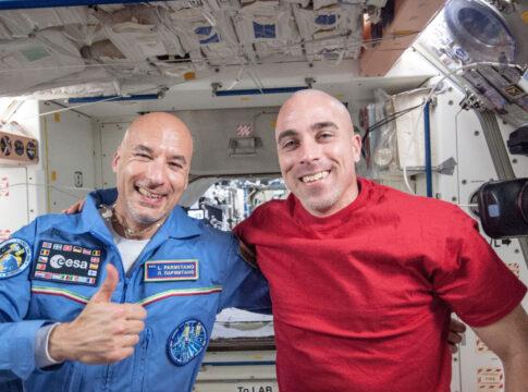 Chris Cassidy e Parmitano