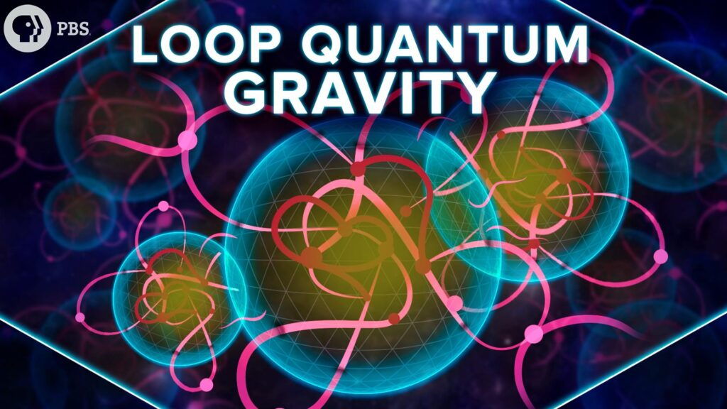 Illustration of loop quantum gravity (LQG), a theory describing the quantum properties of the universe, gravity, and quantum space-time, merging quantum mechanics and general relativity. Credits: PBS