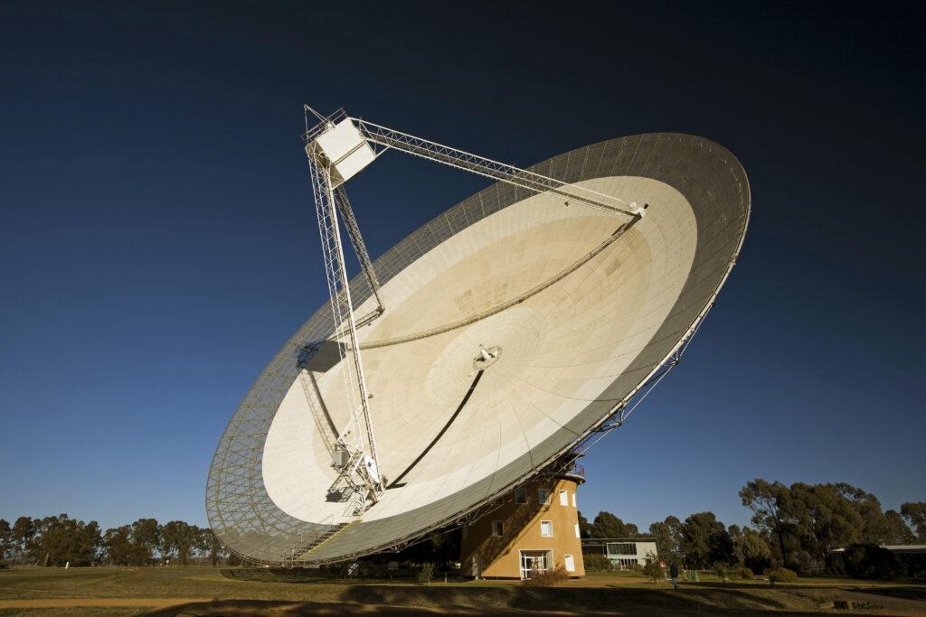 radiotelescopio Parkes nome