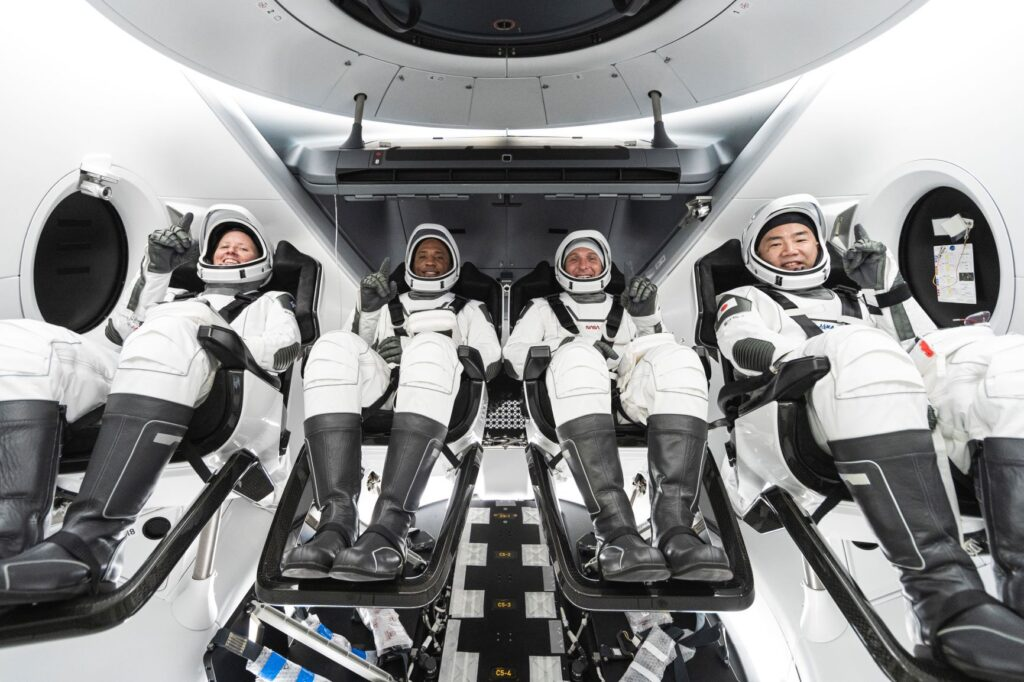 missione crew1 spacex