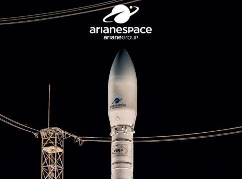 VV17 missione di Arianespace. Crediti Arianespace