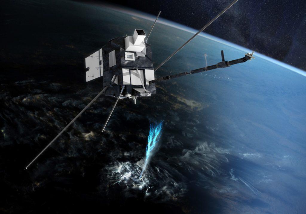 Taranis, secondo satellite trasportato da VV17. Crediti: Arianespace.