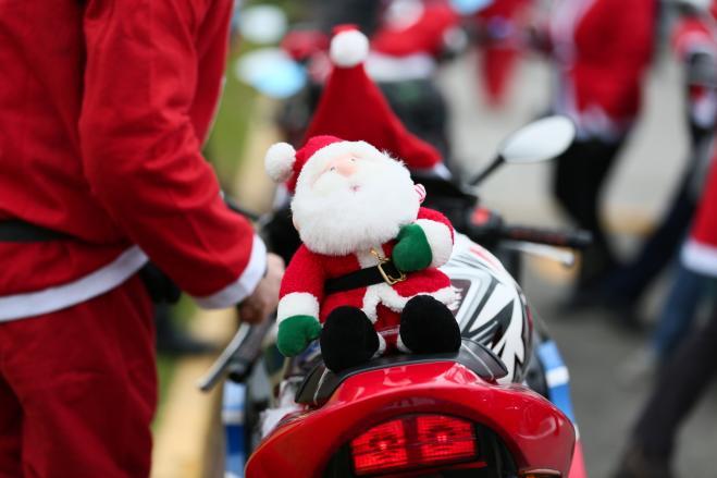 velocità Babbo Natale