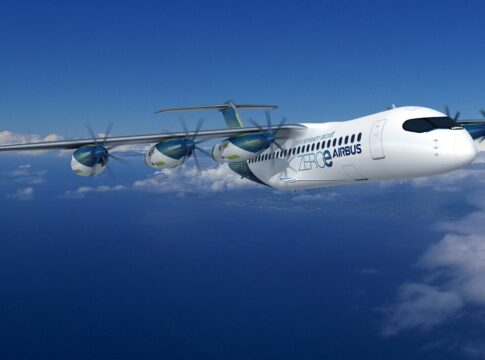 volare zero emissioni airbus
