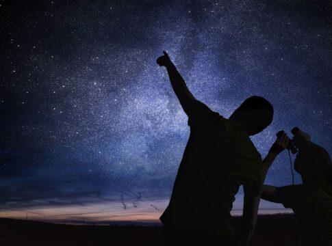 osservazione cielo notturno