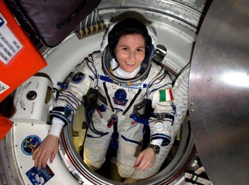 Samantha Cristoforetti sulla Stazione Spaziale Internazionale nel 2022