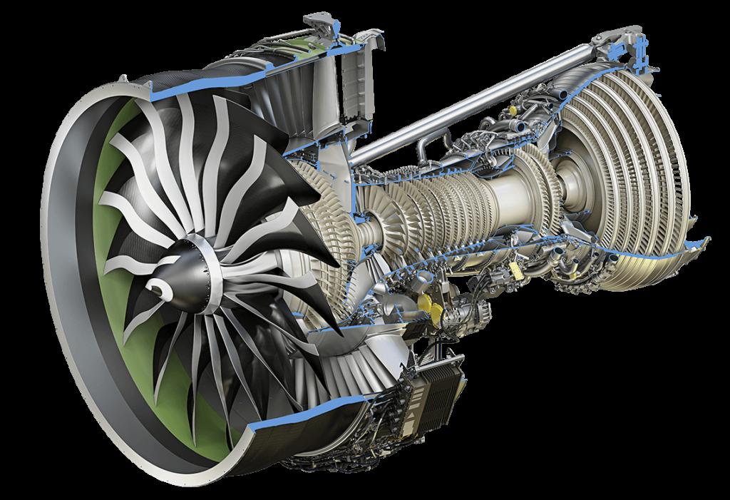motore potente GE9X