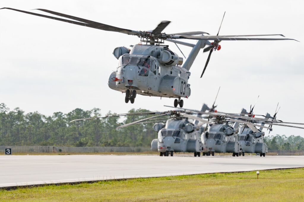 Sikorsky CH-53K. Crediti: Lockheed Martin.