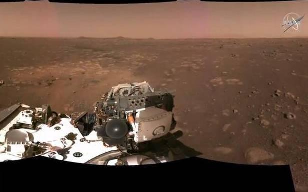 Perseverance immagini suoni Marte