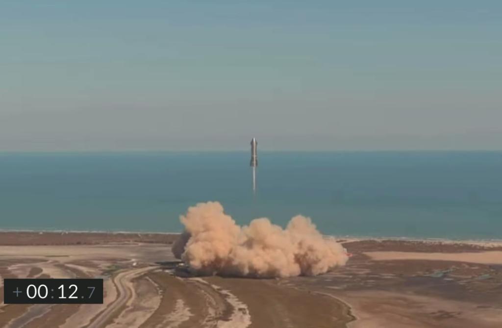 SpaceX starship SN9 fallisce atterraggio