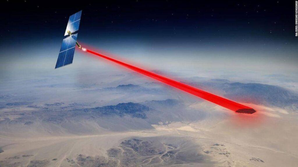 Come utilizzare energia solare dallo spazio
