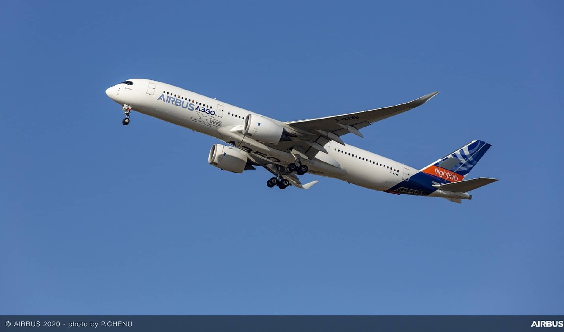 A-350 Flightlab Credits Airbus (photo P. Chenu)