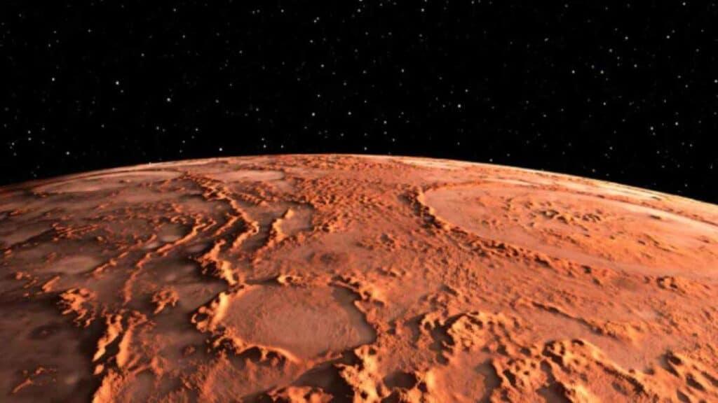 Un recente studio afferma che c'è acqua su Marte tra le rocce del pianeta. L'acqua è trattenuta nelle rocce e Perseverance le analizzerà.